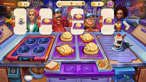 Crazy Cooking Tour: Chef's Restaurant Food Game 1.0.4 screenshots 1