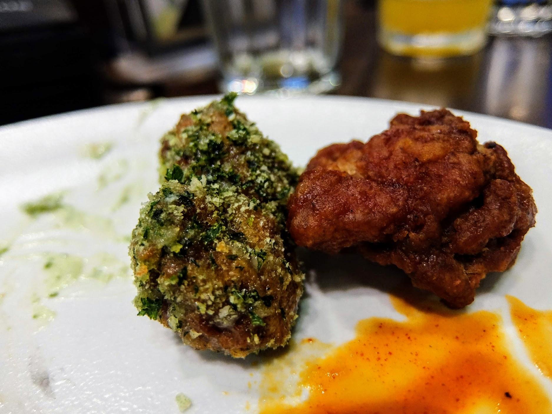 青醬炸雞+台式炸雞