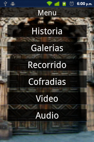 ProceAPPotosí- screenshot