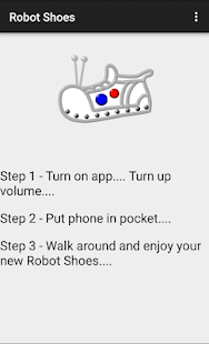 Robot Shoes- screenshot thumbnail