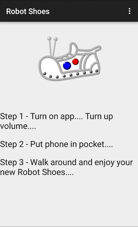 Robot Shoes- screenshot