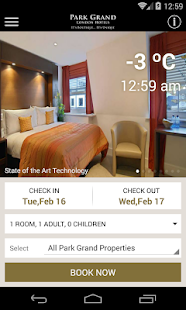 Park Grand London Hotels- screenshot thumbnail
