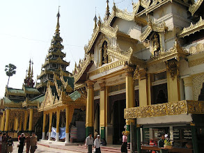 Photo: 4B241578 Birma - Rangun - Shwedagon