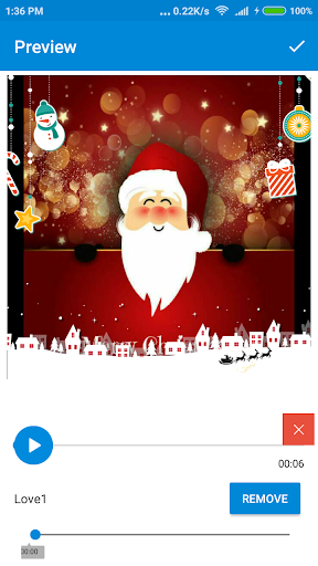 Christmas Photo Video Maker 2018 1.0 screenshots 4
