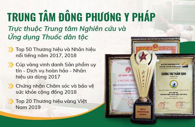 Một số thành tựu đạt được của TT Đông phương Y pháp