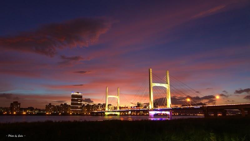新北 三重 重陽橋 夜景 攝