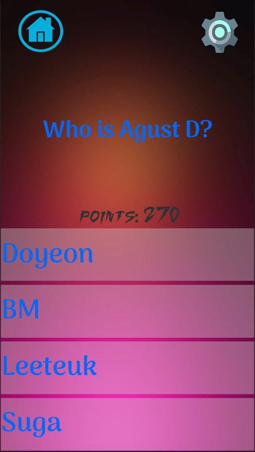 Kpop Quiz 2017- screenshot