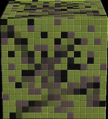 a vírus map textúrája
