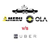 Meru Ola Uber ~ taxi & cabs