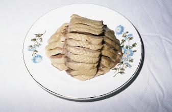 Photo: 11193 南京/双門楼賓館/全鴨席/料理/塩水鴨(塩水漬けのアヒル)