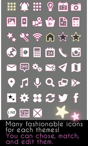 Cute Theme-Starry Heavens- 1.0.1 Windows u7528 4