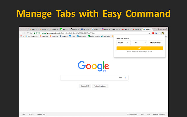 Smart Tab Manager