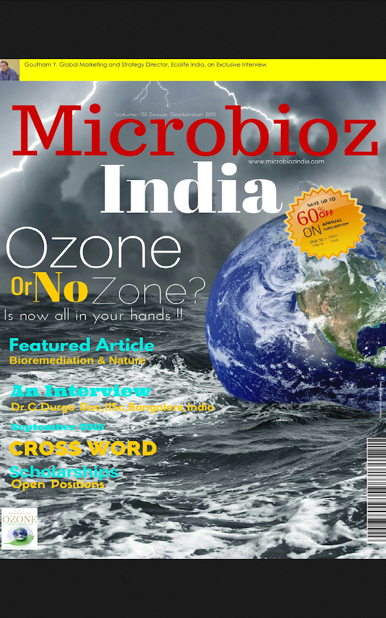 Microbioz India- screenshot