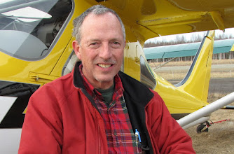Photo: Ted Setzer, just after we arrived at the Lake Hood Strip in Anchorage