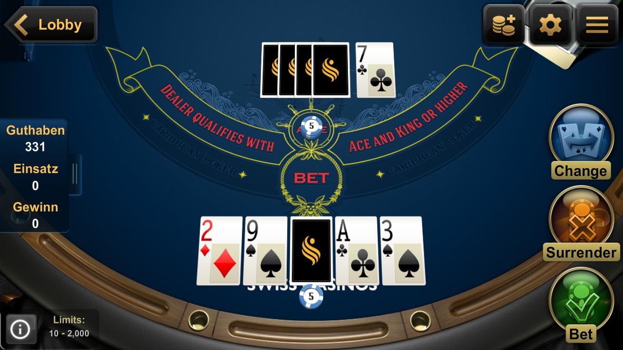 swiss casino online  games online