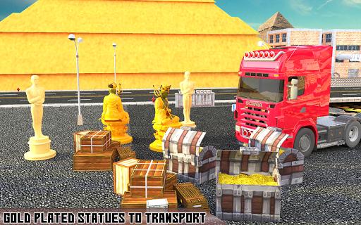 Truck Gold Transport Simulator Full of Truck Drive 1.3 screenshots 1