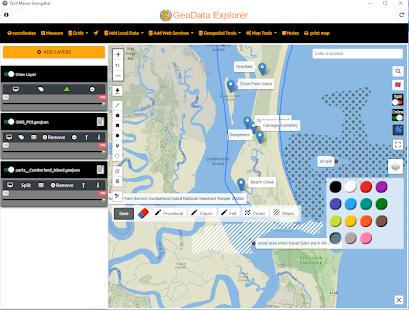 GeoData Explorer for PC / Windows 7, 8, 10 / MAC Free Download