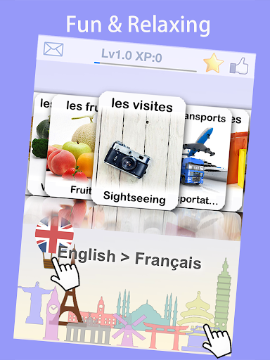 Learn Read French Travel Words