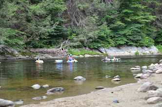 Photo: Great place for tubing at Jamaica State Park by Linda Carlsen-Sperry