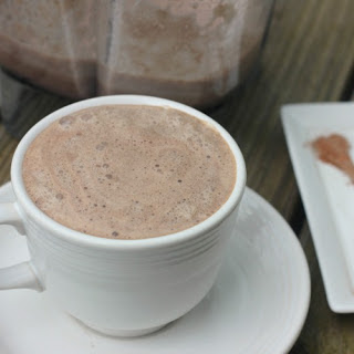 Bread and Chocolate Hot Breakfast Drink