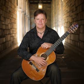 Classical Guitarist Album Cover Shoot by T.J. Wolsos - People Musicians & Entertainers ( musicians, nikon, man, portrait )