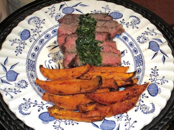 Chimichurri Steak Topper Recipe