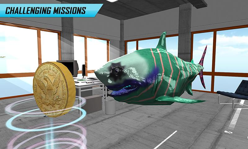 RC Flying Shark Simulator Game- screenshot