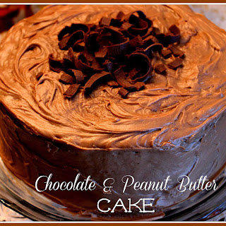 Mama's Chocolate and Peanut Butter Cake!