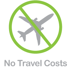 No Travel Costs