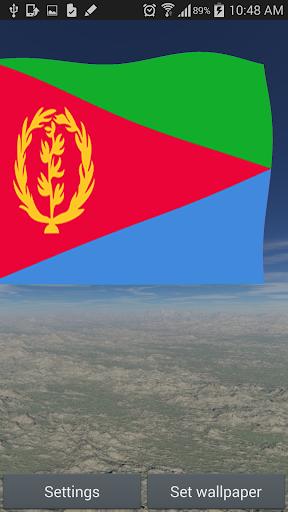 Eritrea Flag Live Wallpaper