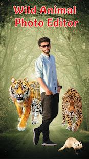 Download Wild Animal Photo Editor For PC Windows and Mac apk screenshot 1