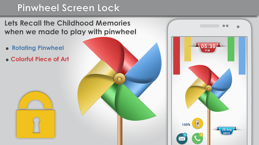 Pinwheel Screen Lock