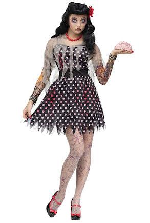 Zombieklänning Rockabilly