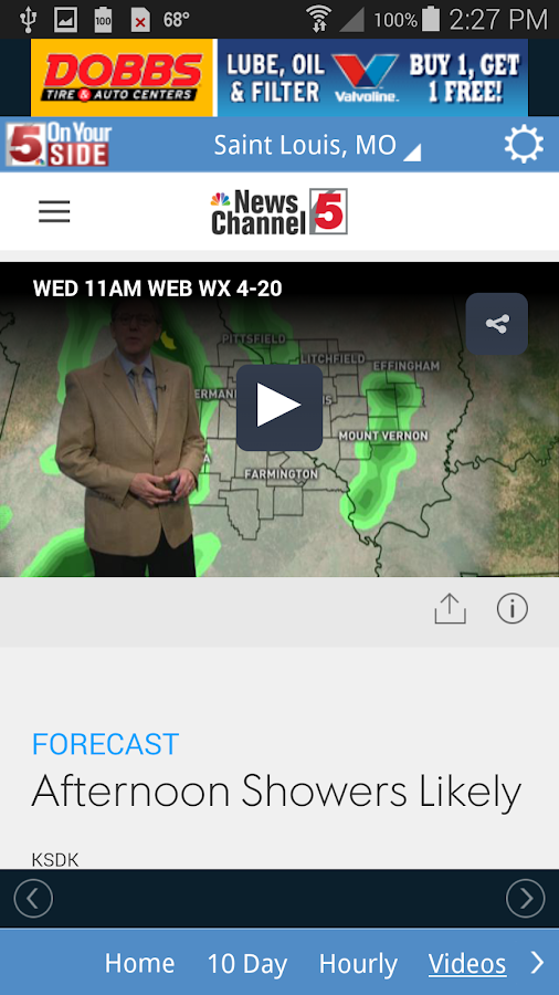 KSDK Weather- screenshot
