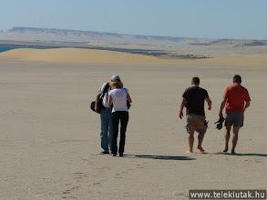 Photo: Sivatagi séta, a Szahara peremén
