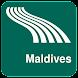 Maldives Map offline