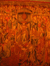 Photo: A closer view of one of these tapestries, which are considered to be some of the museum's most valuable objects.