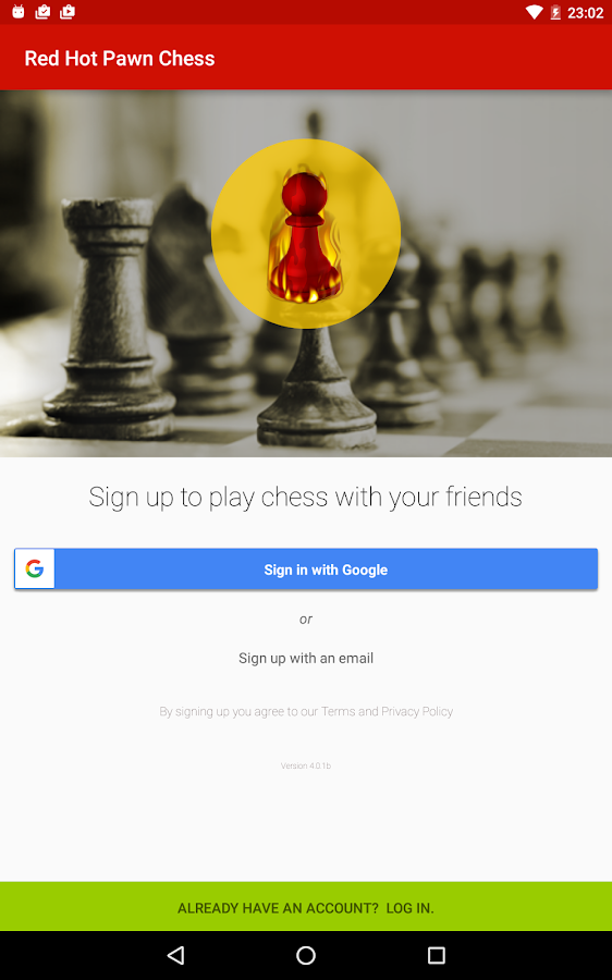 RedHotPawn Play Chess Online- screenshot