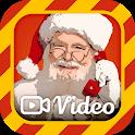 Videollamada a Santa -Video llamada simulada Santa icon