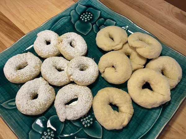 White Wine Cookies