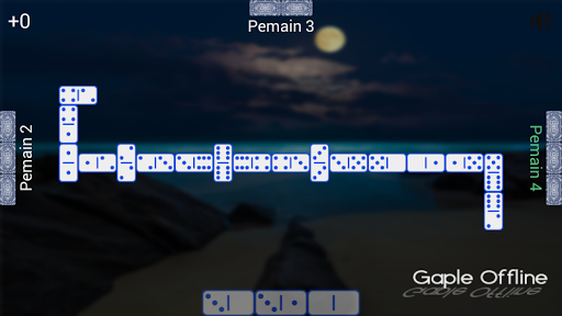 Gaple Offline  gameplay | by HackJr.Pw 11