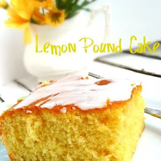 Lemon Pudding Pound Cake