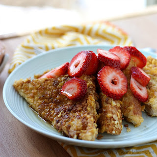 Cereal Crusted French Toast
