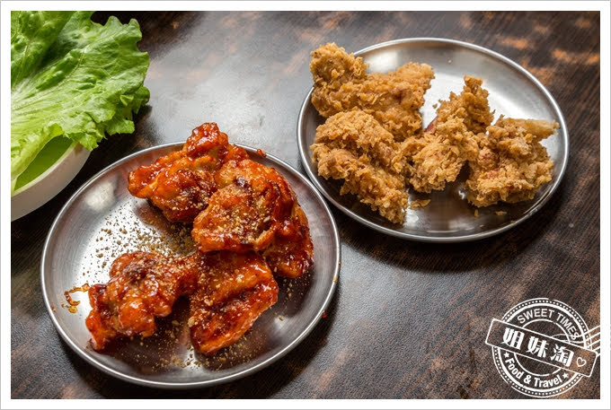 槿韓食堂韓式炸雞辣味炸雞