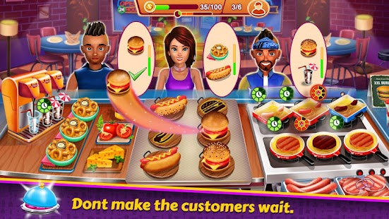 ApkMod1.Com Kitchen Station Chef Cooking Restaurant Tycoon + (Mod Money) for Android Entertainment Game