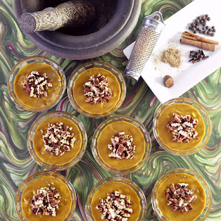 Vegan Pumpkin Pie Mousse