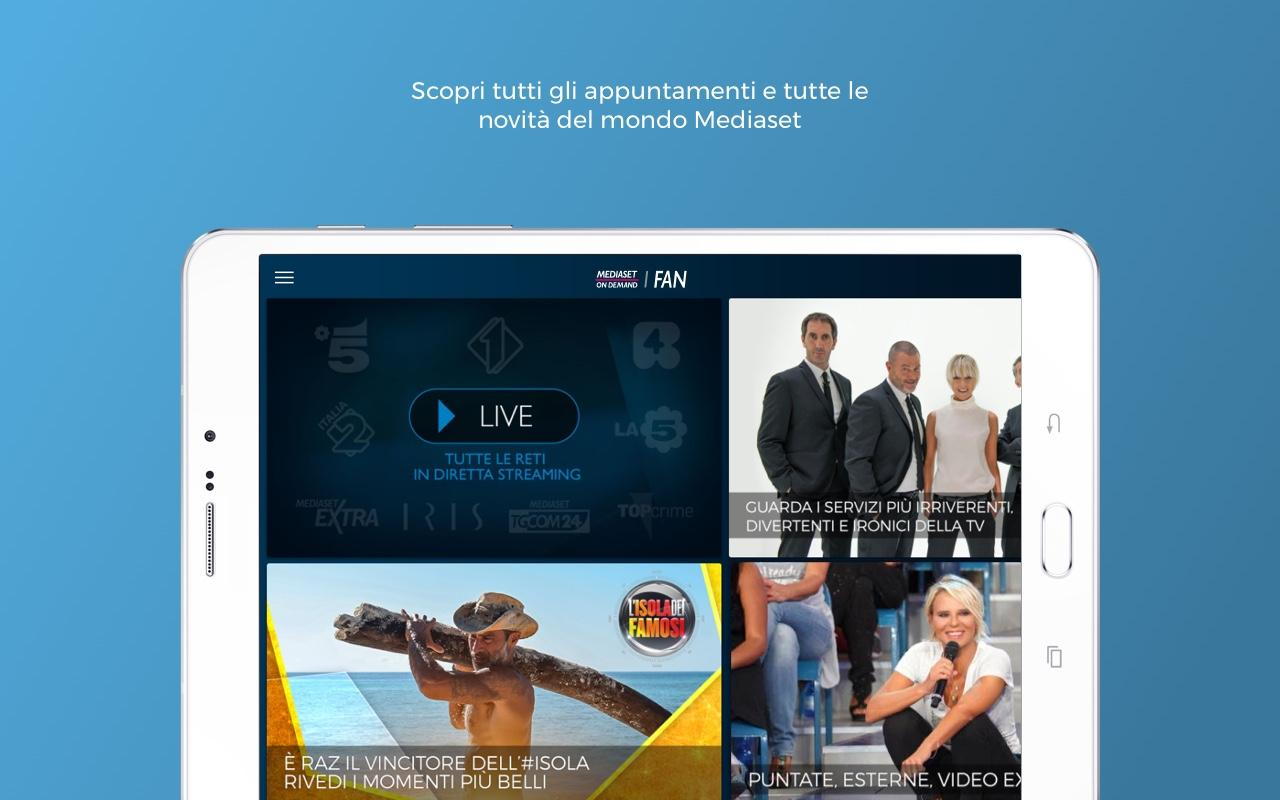 Mediaset Fan- screenshot