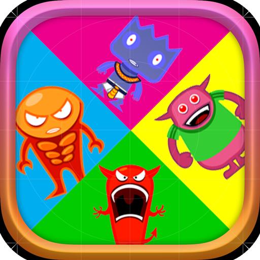 教育のMemorist Game Puzzle Monster LOGO-記事Game