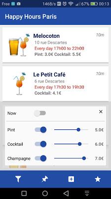 Happy Hours Paris - screenshot