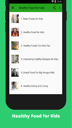 Healthy Food for Kids 1.0 screenshots 1